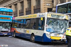 Crashed buses Renfield street Glasgow 2016 (seifracing) Tags: crashed buses renfield street glasgow 2016 investigation clear out real circumstance spotting seifracing scotland services cops vehicles voiture britain british rescue recovery transport traffic police polizei polizia policia