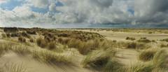 Texel De Hors (Ger Veuger) Tags: panorama beach clouds strand landscape coast dunes wolken duinen texel landschap noordholland dutchlandscape kust dehors noordhollandslandchap