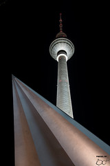 Alex at night (trx_850) Tags: alex nightout nightshot tvtower triangular cityscape architectural fernsehturm lzb lte