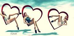 Mon coeur..... (zaziaa resident) Tags: lesfeesendormies zaza dress pack tmp maitreya physique slink hourglass venus isis freya mesh pose heart love coeur