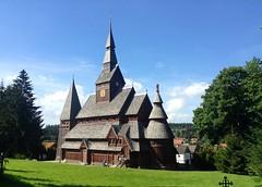 Stabkirche in Hahnenklee (Sockenhummel) Tags: kirche stabkirche holz harz hahnenklee deutschland explore explored todaysexplore fluidr inexplore church