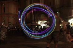 4 (Enrico Rispoli) Tags: juggling light painting piazza san domenico napoli