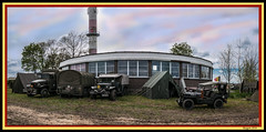 Military camping (ericbaygon) Tags: military militaire camp d300s nikon jeep truck car camion arme army