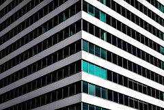 Teal Blocks (Darren LoPrinzi) Tags: 5d canon5d philadelphia philly urban canon city miii windows teal architectural symmetry light shadow