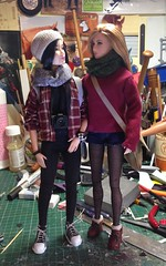 Max and Juno (Elrenia_Greenleaf) Tags: custombarbie 16thscale playscale