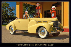 1938 Cadillac Series 60 at the Shell Station (sjb4photos) Tags: gilmorecarmuseum autoglamma visipix 1938cadillacseries60