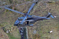 RAF Puma, Glenridding, 2016 (TheSpur8) Tags: puma oxfordcrag aircraft date uk skarbinski lakedistrict helicopter military landlocked lowlevel 2016 anationality places transport