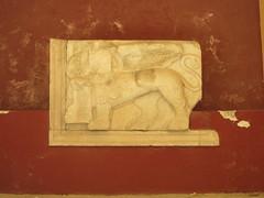 Corfu: Old Fortress - Venetian Bas-Relief (escriteur) Tags: img6580 greece corfu κέρκυρα oldfort oldfortress fort fortress παλαιόφρούριο venetian marble carving sculpture relief basrelief lion wingedlion venetianlion lionofstmark lionofsaintmark