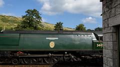 Swanage Railway 12 (Matt_Rayner) Tags: swanage railway corfe castle station steam train manston battle of britain class