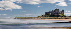 Lost in Northumberland (Geoff Moore UK) Tags: sea seascape long exsposure 10stop panoramic landscape ocean water waves northumberland bamburghcastle northeastengland adventure travel exporation