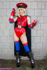 Shadaloo Cammy cosplay (The Doppelganger) Tags: cammy cammywhite shadaloo mbison cosplay cosplayer streetfighter boots j1con j1con2016