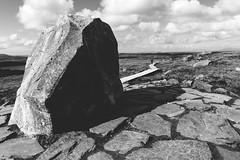 the stone () Tags: connemara ireland stone path landscape clouds sky