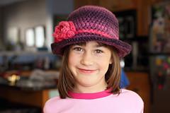 Hats (friesen4) Tags: crochet hats kids cloche girl 1920s