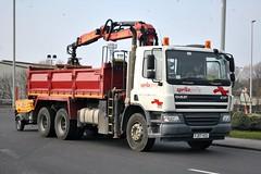 FJ07VZU (stamper104) Tags: truck tipper transport 6wheeler dafcf alltypesoftransport anykindofvehicles transportintheframe transportoftheworld worldtrucks spriteprime