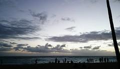 Waikiki sunset! (Ahmed's Eye !) Tags: sunset beach hawaii moody waikiki honolulu
