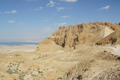 Desert of Judea and Masada, Israel, March 2015