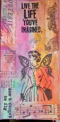 Envol (tonkinoise2012) Tags: atc butterfly libertad freedom fly mixed wings mujer media ranger handmade tag femme card liberté stamping mariposa rubberstamping carte ailes sellos texte stamper timholtz femmepapillon distresspaint tissuetapetimholtz