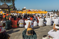 Melasti Ceremony (Zhenya bakanovaAlex Grabchilev) Tags: travel people bali indonesia asia prayer religion ceremony culture local tradition melasti