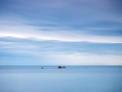Azul (bertigarcas) Tags: blue sea espaa azul marina landscape asturias paisaje olympus zuiko omd portizuelo 1240 em5
