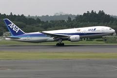 All Nippon Airways Boeing 777-281ER (JA708A) (TFG Lau) Tags: canon airplane eos star tokyo ana aviation jet nh aeroplane 777 canoneos eos10d spotting narita nrt planespotting boeing777 b777 staralliance allnipponairways b772 rjaa ja708a b77e ahkgapworldwide