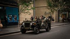 1960's Military Utility Tactical Truck Car Hire & Rental in Sydney (bigboysdad) Tags: street lumix olympus m43 14mm ep5