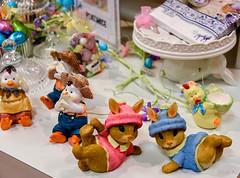 (Jocey K) Tags: newzealand christchurch bunnies easter store display department eggcups eggsballantynes