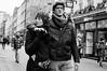 Welcome to London mate..... (jonron239) Tags: boy woman man london girl couple coat woollyhat carnabystreet glance leatherjacket clocked cowl