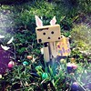 Here comes Peter Cottontail🐰🎉 (DollyxVibez) Tags: easter japanese spring easterbunny danbo toyphotography cutephotography danboard