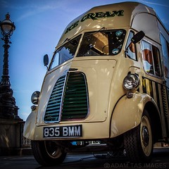 Morris commercial J-type ice cream van. #London #morris #austin #commercial #icecream #van #jtypevan #adamtasimages #l4l #uk #cars #classic-cars #city #camper #instagood (#adamtasimages) Tags: london austin square photography google nikon photographer images commercial icecream squareformat morris van classiccars l4l adamtas iphoneography jtypevan instagramapp uploaded:by=instagram instagood adamtasimages