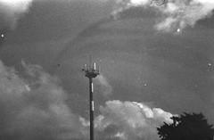 Antenna (Minimal Cinema) Tags: bw film 35mm blackwhite lomo lomography grain lofi damaged rodinal expired ilford fp4 1100 werlisa 125asa standdevelopment r09 clubcolor