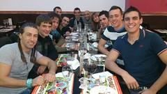 Examen de Grado 2013- Cena con el Equipo.
