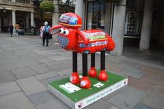Shaun the Sheep (PD3.) Tags: charity city uk england sculpture london art artist arty sheep sightseeing seeing wallace shaun sight sculptures gromit children's aardmans gromit's