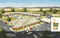 Holiday Inn - Carlsbad, New Mexico (The Cardboard America Archives) Tags: newmexico vintage hotel postcard motel holidayinn carlsbad
