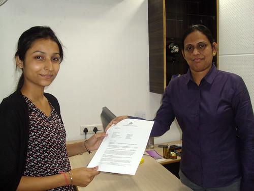 Director handling Australia Student visa to Ishmeet kaur
