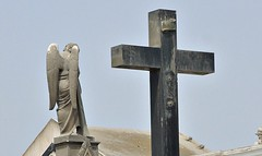 The strange and dusty Lima cemetery (dw*c) Tags: peru southamerica cemetery grave nikon lima tomb graves tombs picmonkey