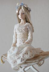 Gray pearl (Zellstudio) Tags: marina doll handmade bjd resin enchanted enchanteddoll bychkova
