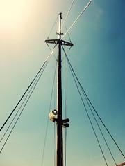 navigare (Bambola 2012) Tags: europe europa hrvatska croatia croazia costa coast sea seaside adriatic adriatico jadran jadransko mare more obala navigare sail ploviti blue blu plavo boat barca brod jarbol mast albero sun sole sunce sky cielo nebo spring proljee primavera krk