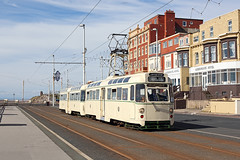T2-272 Gynn Square 17th July 2016 (John Eyres) Tags: t2272 taken shortly after gynn square heading for pleasure beach 170716 blackpool tram