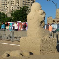 2016_SandSculptingFestival_015 (*Ice Princess*) Tags: revere reverebeach beach sand sandsculpture sandsculptingfestival sandsculptingcontest festival contest internationalsandsculptingfestival sculpture