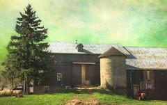 Impressionistic Barn! (John Ronson Photography) Tags: farm textures monet impression topaz barnandsilo jaijohnson peerica lenabemannaj