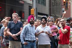Faces of New York: people of the world (Canadian Pacific) Tags: usa us unitedstates ofamerica america american city urban newyork manhattan people newyorker timessquare aimg6726 man men indian sikh sikhs guy