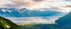 """Panoramic View from Seven Glaciers, Alyeska Resort • <a style=""""font-size:0.8em;"""" href=""""http://www.flickr.com/photos/41711332@N00/28204231912/"""" target=""""_blank"""">View on Flickr</a>"""