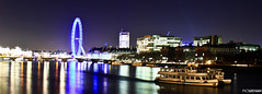 portfolioAC-24 (Alejandro Colon) Tags: night river thames londoeye eyeoflondon westminster bridge blue