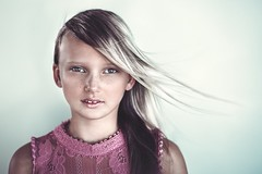 mimiE2 lr (ericksonl24) Tags: studio hair girl freckles green eyes