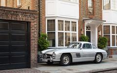 300 SL. (Alex Penfold) Tags: london classic cars alex silver mercedes benz sl autos 300 supercars 300sl penfold 2016