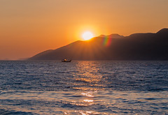 August sunset (Vagelis Pikoulas) Tags: sun sunset sunshine sunburst porto germeno greece travel sea holiday summer august 2016 canon tokina 1628mm seascape