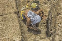 Archeologist 2 (Fabrizio Maffei) Tags: summer man hot italia day sweat su latina dust fatigue lazio fatica archeo archeologist allaperto satricum archeologo alloaperto