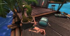20160628 - PatrickUnicorn_21_001 (Patrick Unicorn) Tags: boy relaxing lying house beach sea shore chilling floor