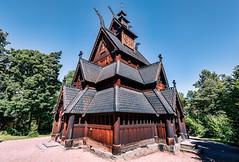 Norsk Folkemuseum (Tuomo Lindfors) Tags: norge norway norja oslo topazlabs dxo filmpack adjust norskfolkemuseum stavechurch stavkirke stavkyrkje sauvakirkko