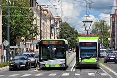 Solaris Tramino S111o #3012 Urbino 12 #A817 MPK Olsztyn (3x105Na) Tags: bus tram poland polska polen solaris strassenbahn olsztyn mpk tramwaj 3012 urbino12 mpkolsztyn tramino a817 s111o